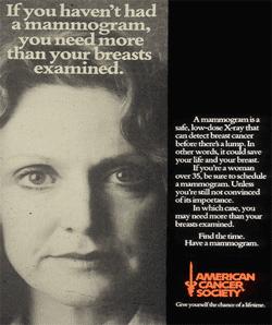 Campagne de l'American Cancer Society:
