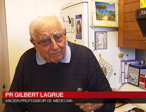 Gilbert LAGRUE est mort
