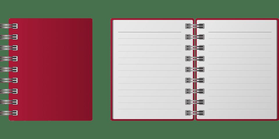 cahier de notes