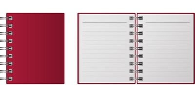 cahier note