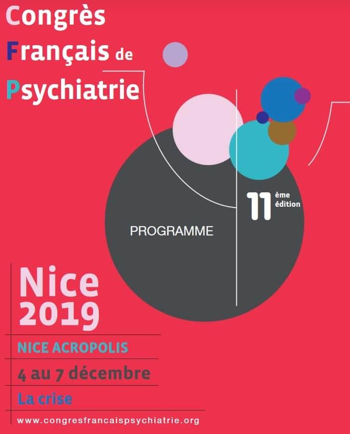 Affiche 11e congrès français de Psychiatrie
