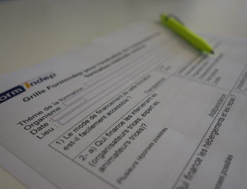 Grille Formindep pour l'évaluation de l'indépendance d'une formation médicale continue